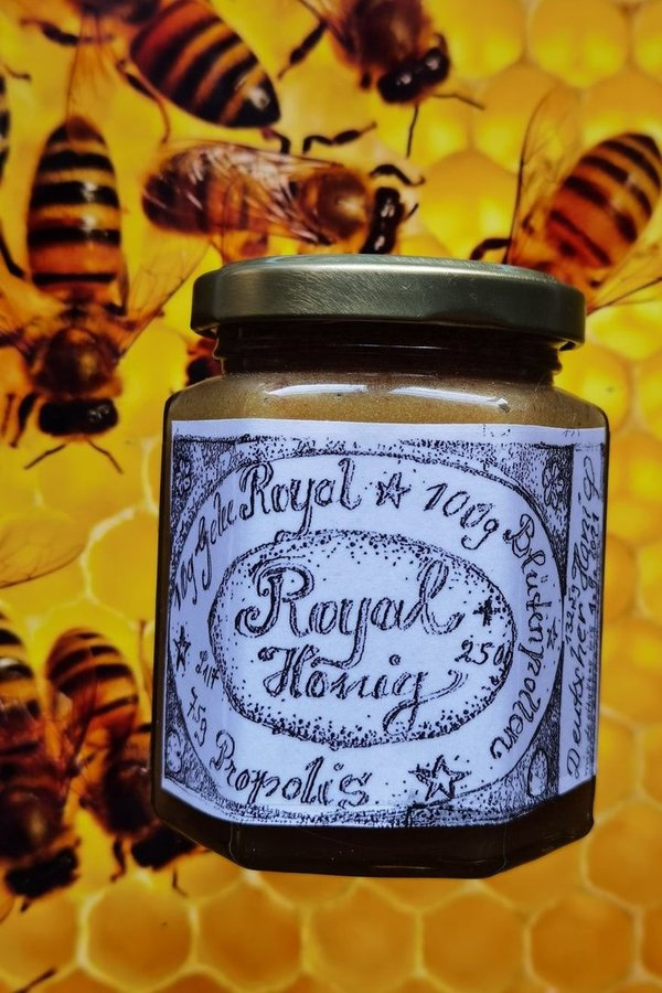 Royal Honig 250g Royalhonig Blütenpollen Gelee Royal Propolis 4 in 1