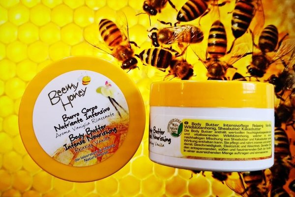 BeeMy Honey Körperbutter Vanille Schloss Warlitz /  Natura House 250g